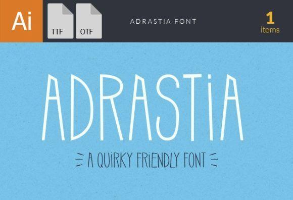 Adrastia Font Fonts font