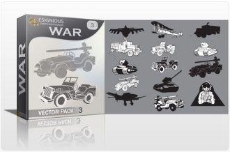 War vector pack 3 War military