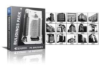 Buidings brushes pack 1 Buildings brushes [tag]