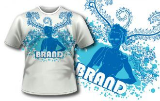 T-shirt design 5 T-shirt Designs and Templates [tag]