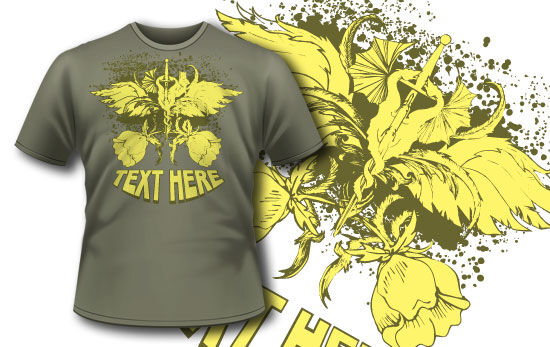 T-shirt design 25 T-shirt Designs and Templates [tag]
