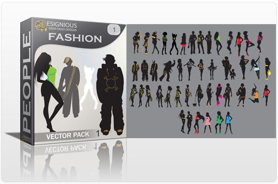 Fashion vector pack People fashion