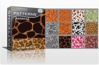 Seamless patterns vector pack 11 animal print Vector Patterns pattern
