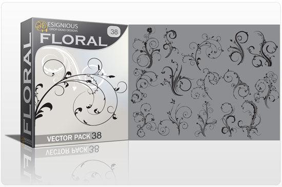 Floral vector pack 38 Floral floral