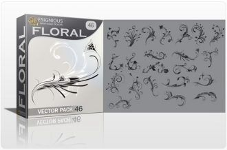 Floral vector pack 46 Floral floral