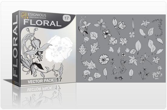 Floral vector pack 17 Floral floral
