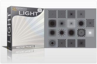 Light vector pack Nature light