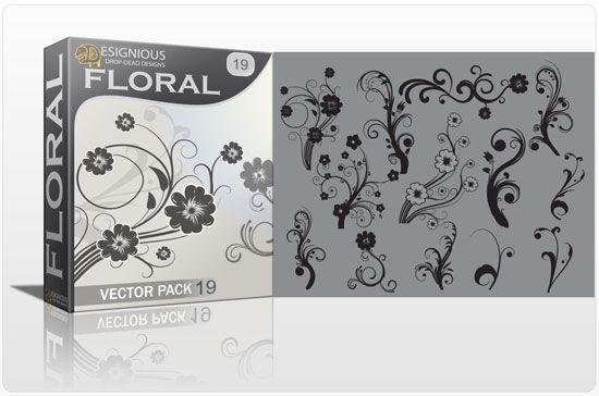 Floral vector pack 19 Floral floral