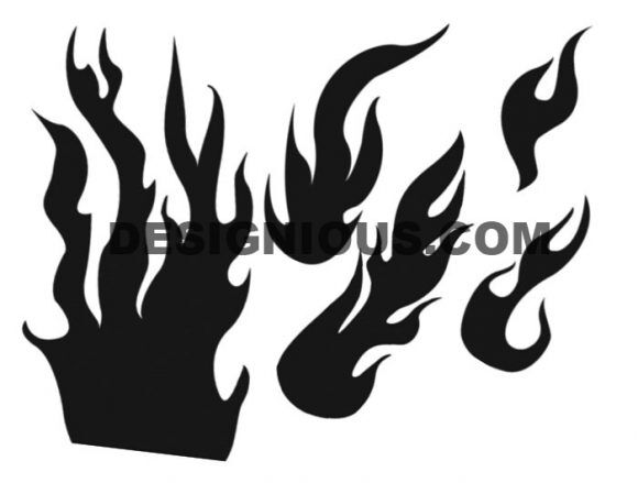 Flames brushes pack 1 Nature brushes [tag]