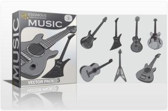 Music vector pack 3 Music music