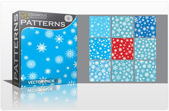Seamless patterns vector pack 6 Vector Patterns pattern