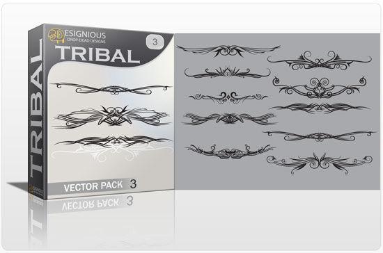 Tribal vector pack 3 Tribal vector