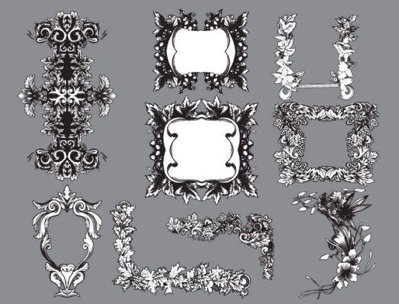 Floral vector pack 25 Floral floral