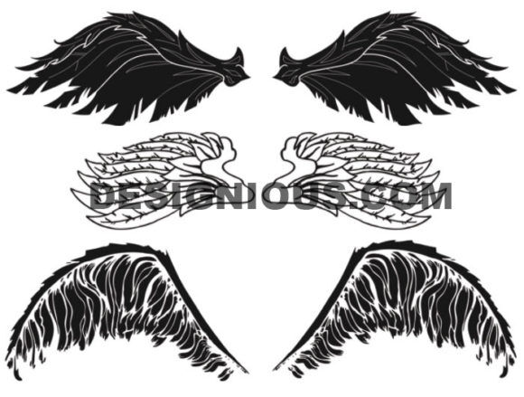 Tribal brushes pack 3 animals Tribal brushes [tag]