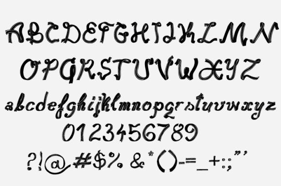 Ribbonesque font Fonts [tag]