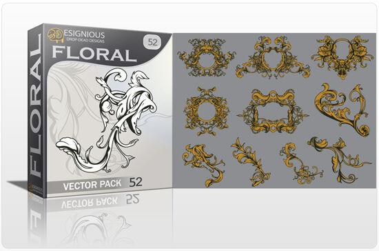 Floral vector pack 52 Floral floral
