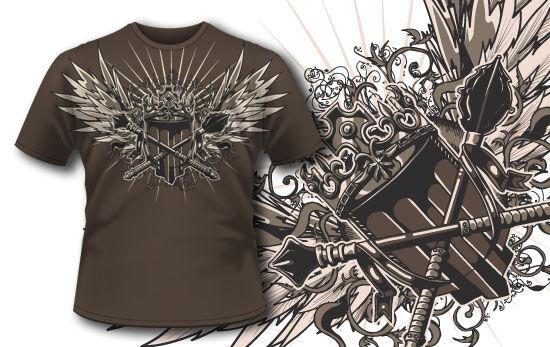 T-shirt design 239 T-shirt Designs and Templates vector