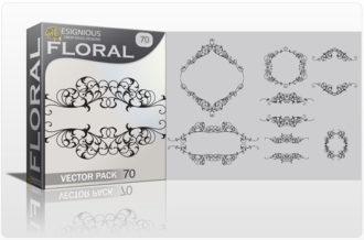 Floral vector pack 70 Floral floral