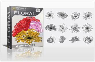 Floral vector pack 71 Floral floral