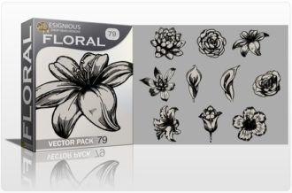 Floral Vector Pack 79 Floral floral