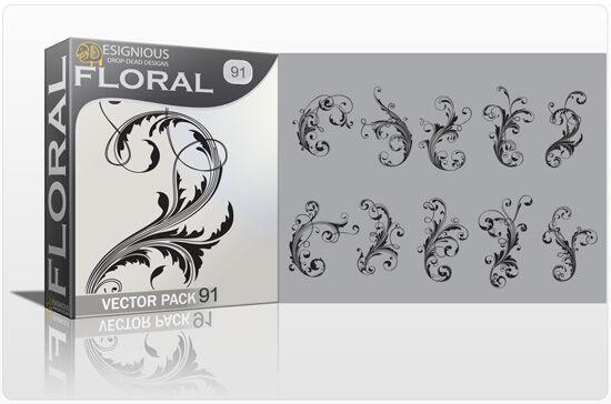 Floral vector pack 91 Floral floral