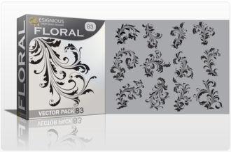 Floral Vector Pack 83 – Flourishes Floral floral