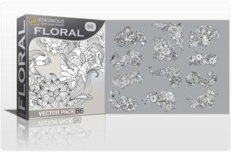 Floral Vector Pack 86 Floral floral