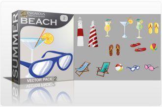 Beach Vector Pack 2 Summer [tag]