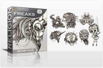 Freaks Vector Pack 3 Religion dead