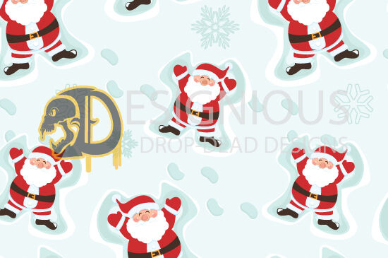 Seamless Patterns Vector Pack 42 – Winter Vector Patterns [tag]