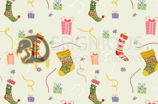 Seamless Patterns Vector Pack 43 – Christmas Vector Patterns [tag]