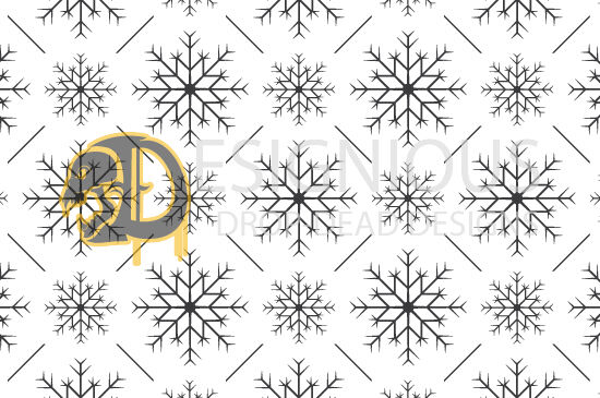 Seamless Patterns Vector Pack 45 – Snowflakes Vector Patterns asd