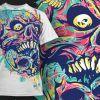 T-shirt Design 437 T-shirt Designs and Templates urban
