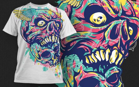 T-shirt Design 436 T-shirt Designs and Templates urban