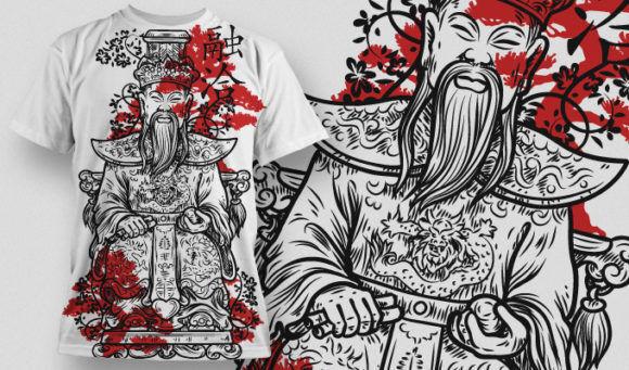 T-shirt Design 442 T-shirt Designs and Templates vector