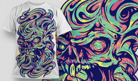 T-shirt Design 458 T-shirt Designs and Templates vector