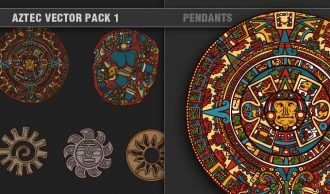 Aztec Vector Pack 1 Religion [tag]