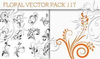 Floral Vector Pack 117 Floral floral