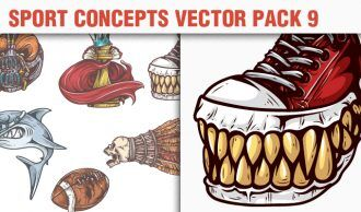 Sport Concepts Vector Pack 9 People [tag]