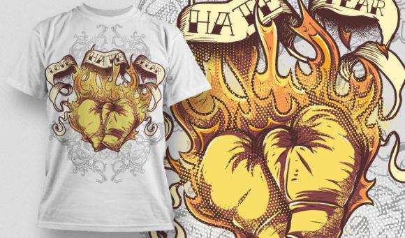 T-shirt Design 520 T-shirt Designs and Templates vector