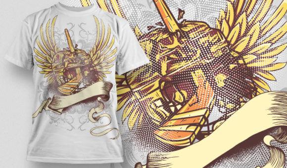 T-shirt Design 521 T-shirt Designs and Templates vector