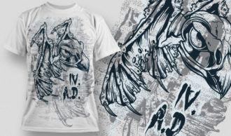 T-shirt Design 533 T-shirt Designs and Templates vector