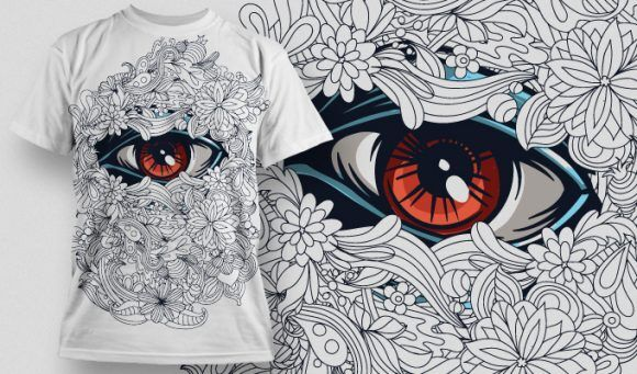 T-shirt Design 539 T-shirt Designs and Templates vector