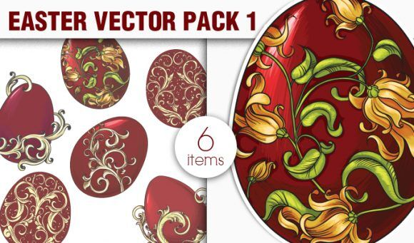 Easter Vector Pack 1 Holidays [tag]