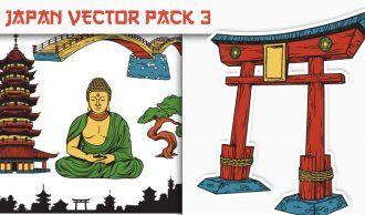 Japan Vector Pack 3 Japanese Art [tag]