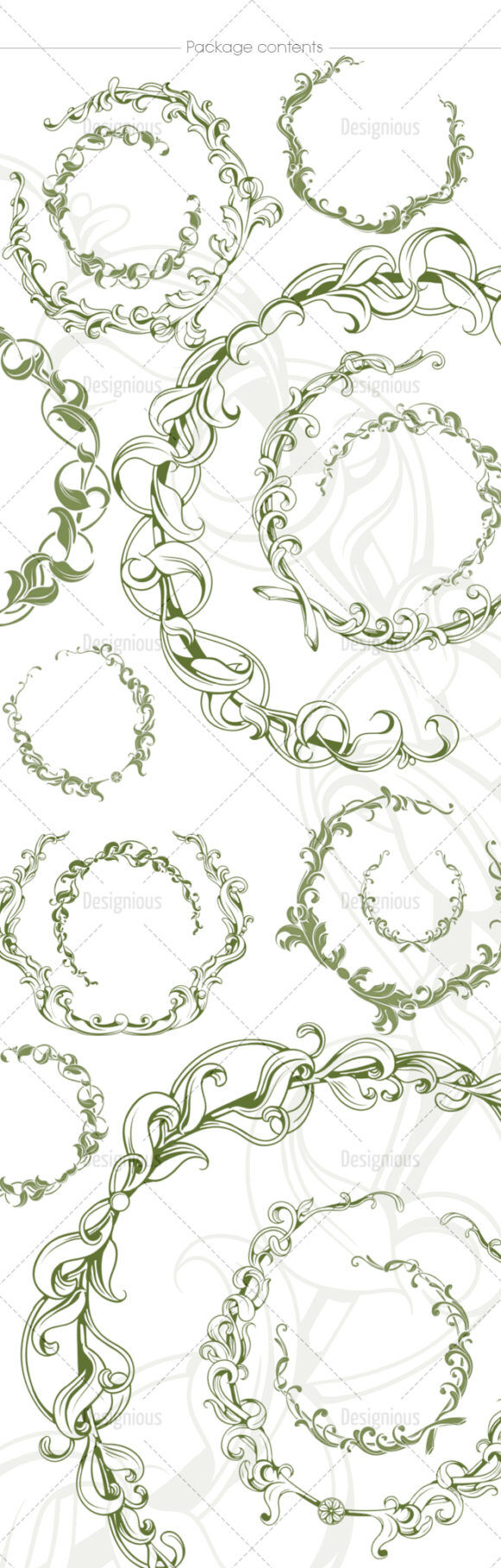 Floral Brushes Pack 54 Floral brushes [tag]