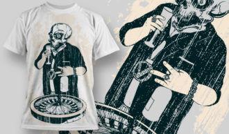 T-shirt Design 581 T-shirt Designs and Templates vector