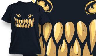 T-shirt Design 592 T-shirt Designs and Templates vector
