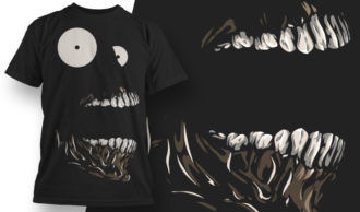 T-shirt Design 596 T-shirt Designs and Templates vector