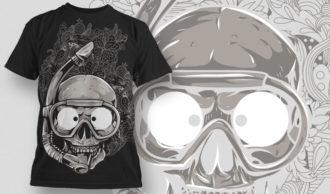 T-shirt Design 599 T-shirt Designs and Templates vector